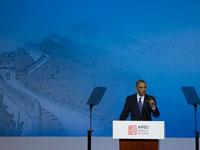 美国总统奥巴马发表演讲[组图]