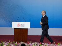 俄罗斯总统普京发表演讲[组图]