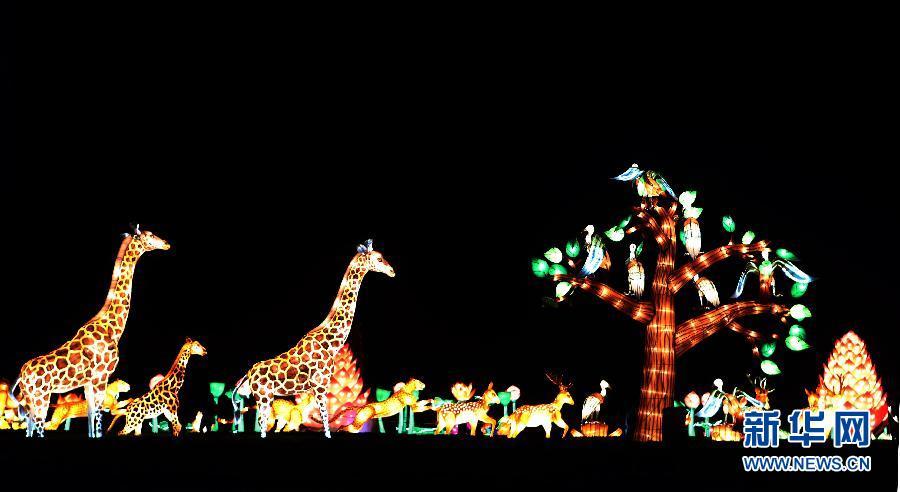中国灯笼节将在英国朗丽特行宫举行[组图]