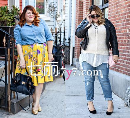 胖女人的冬天不寂寞 胖女人穿衣搭配技巧(图)图片