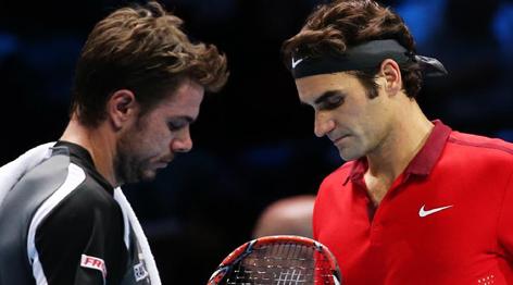 ATP年终总决赛:费德勒胜瓦林卡