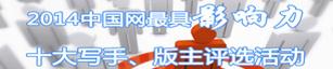 中国网年度版主写手评选