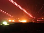 陸軍第1集團軍夜間實兵實彈演習