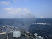 海軍護航編隊展開遠海實戰化攻防演練