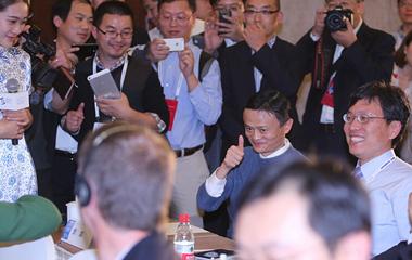 乌镇表情:世界互联网大会的大咖