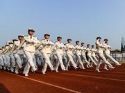 海軍工程大學2014年度閱兵 氣勢恢弘
