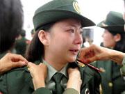 退伍軍人的告別禮 揮別戰友奔赴新旅程