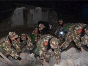 康定抗震救災:122名退伍老兵主動請戰