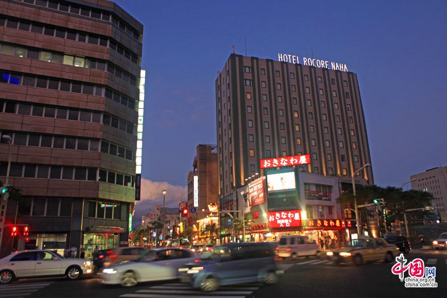 夜上沖繩國際通