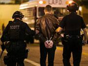 洛杉矶近200示威民众被捕