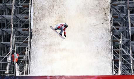 2014沸雪单板滑雪北京站精彩瞬间