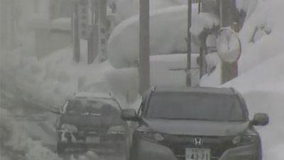 日本中北部暴风雪致11人死亡
