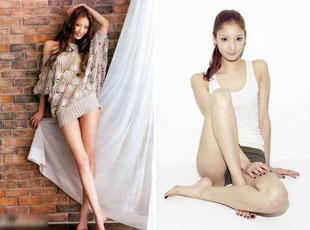 日本女星以85cm美腿爆红