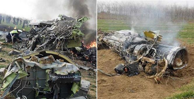 一架軍機在陜西渭南墜毀 2死1傷
