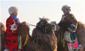 2014中国冰雪那达慕:牧民姑娘