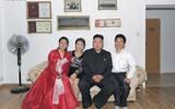 朝鲜第一夫人李雪主家居照