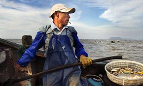 名存实亡近的海传统渔场