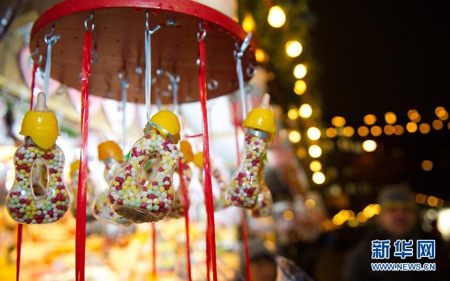 维也纳市政厅广场圣诞市场的美食