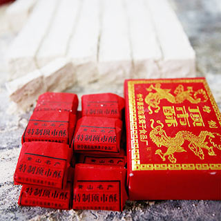 徽州传统拜年糕点——顶市酥[组图]