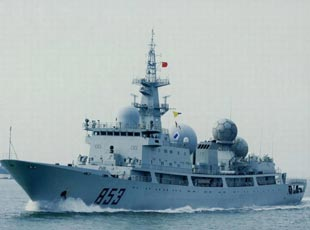 國産新型特種軍艦曝光