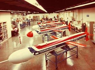 美國戰斧巡航導彈生産線曝光
