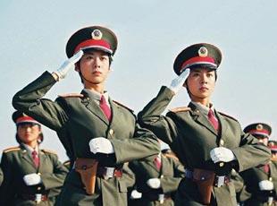 女兵 方队