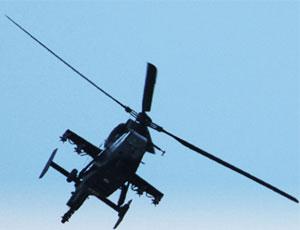 駐新疆陸航部隊裝備武直19