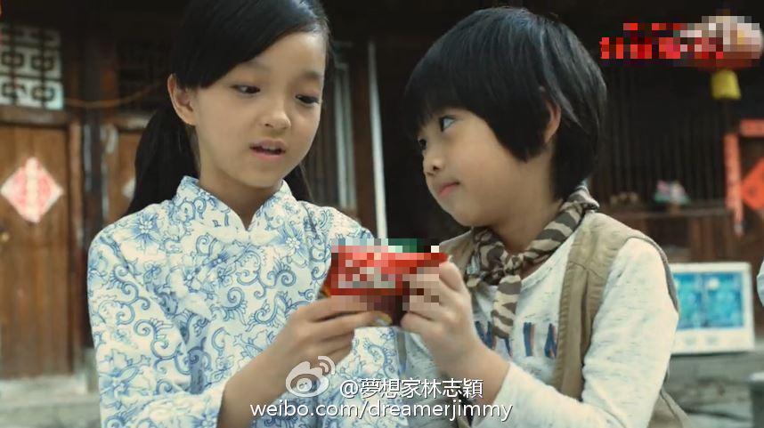 Kimi替林志颖出演20年前广告 萌娃力压tfboys