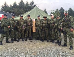 日本陸自特種部隊罕見訓練畫面