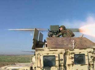 庫爾德武裝悍馬車上裝中國紅箭8狠打IS