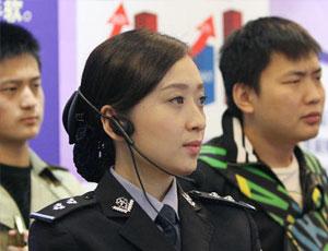 """廣東警花亮相""""南粵亮劍""""展"""
