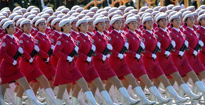 經典再現:新中國14次國慶大閱兵