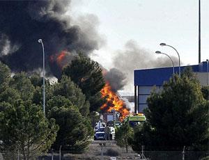希臘軍機在西班牙墜毀 10人喪生