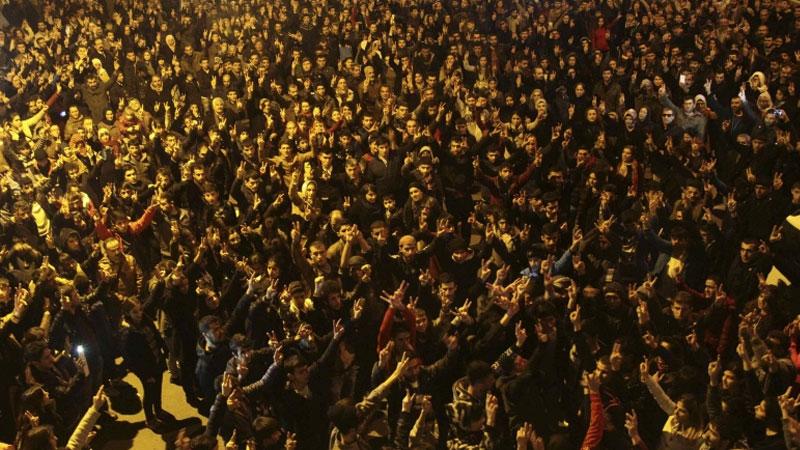 【全球頭圖】庫爾德人慶祝擊退IS 解放艾因阿拉伯