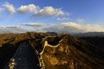 冬日金山岭长城—任性的云