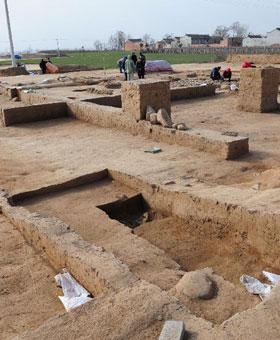 考古学家首次发掘出西周时期社祭建筑