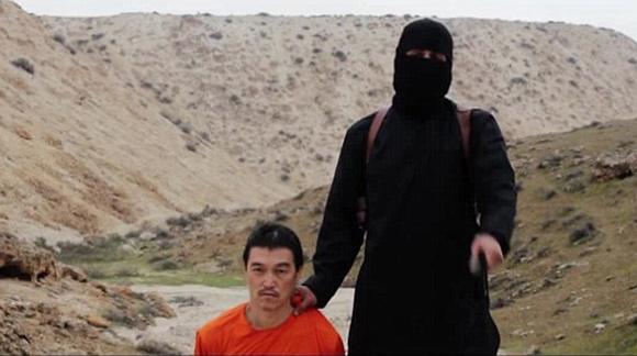 IS将第二名日本人质斩首画面公布