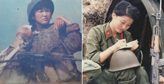 對越自衛反擊戰時期中國女兵珍貴老照片亮相