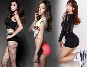 韩国美女健身教练走红网络