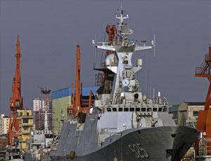 國內船廠新老軍艦上演三代同堂