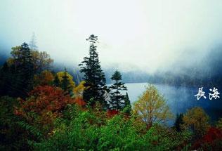 则查洼沟风景线——雪峰皑皑,神秘莫测