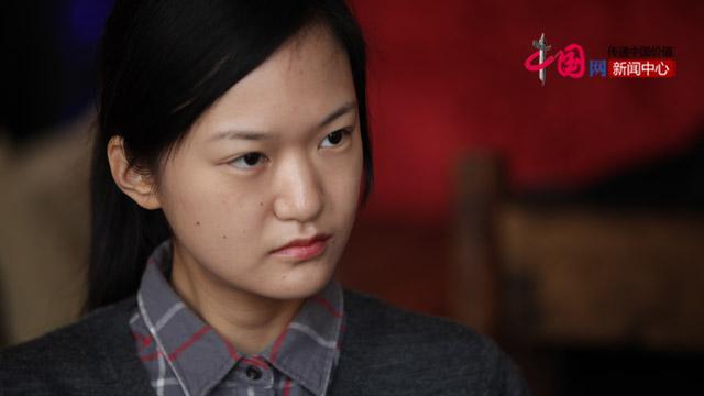 韩国留学生赵安娜。