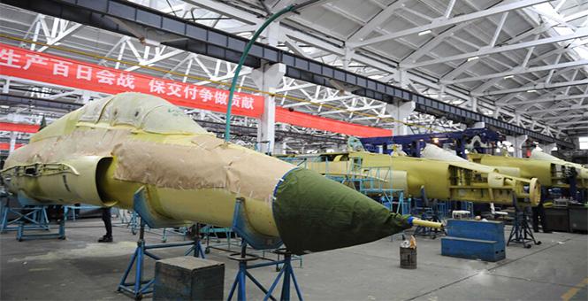貴飛新版DSI進氣道型山鷹高教機開始量産