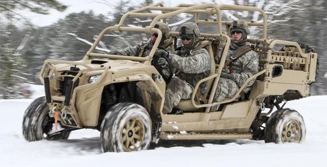 美軍新型戰術全地形車曝光 造型奇特