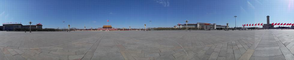 天安门广场全景