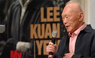 新加坡前总理李光耀病情恶化