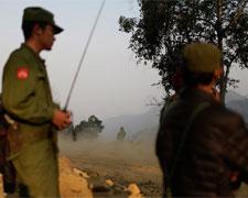 记者亲历缅北前线:他们只是想有个家(组图)