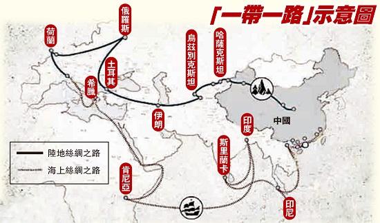 """刘宗义:""""一带一路""""计划与台湾的机遇图片"""