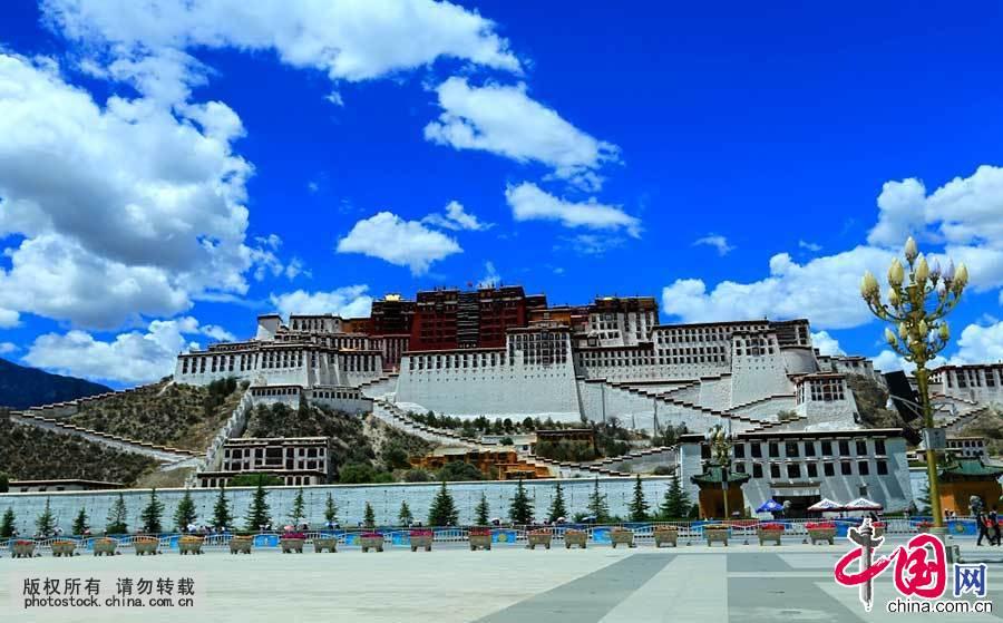 [世遗]高原圣殿——西藏拉萨壮丽的布达拉宫[组图]