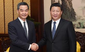 中央坚定支持香港依法推进政制发展
